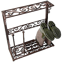 Fallen Fruits Small Cast Iron Boot Rack