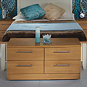 Welcome Furniture Sherwood 4 Drawer Bed Box - English Oak
