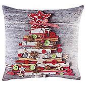 Craft Christmas Tree Cushion