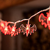20 Colour Changing LED Halloween Bat Battery Fairy Lights