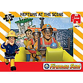 Fireman Sam Jumbo Games Neptune At The Scene Jigsaw Puzzle