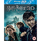Harry Potter 7 3D: The Deathly Hallows Part A Bd