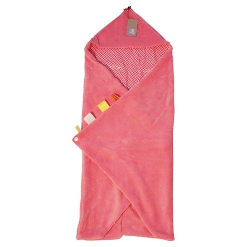 Snoozebaby Wrap Blanket - Elephant Pink