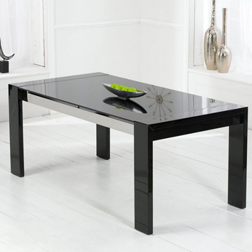 Mark Harris Furniture Sophia Dining Table in Black