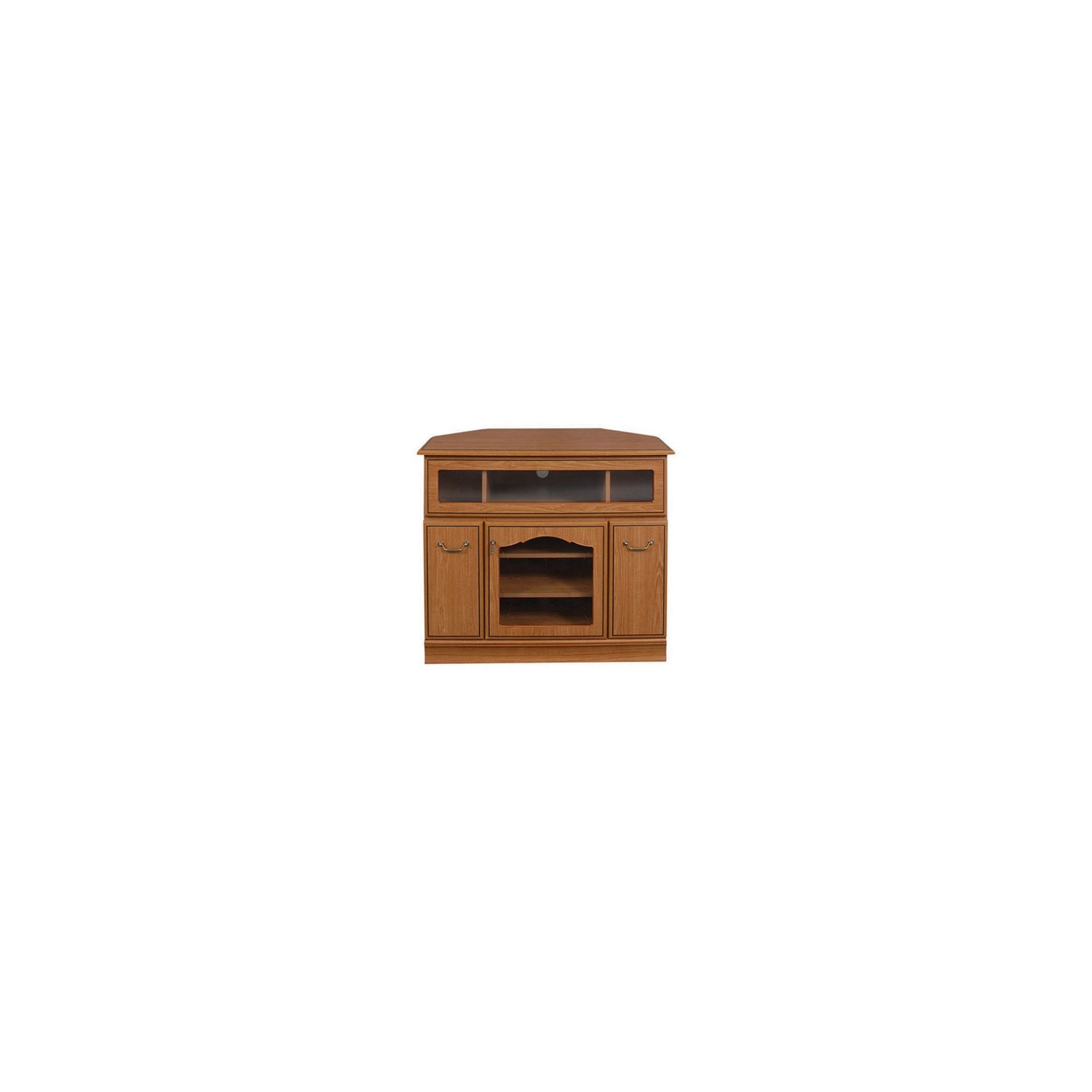 Caxton Lichfield Wooden Corner Entertainment Cabinet for LCD / Plasmas at Tesco Direct