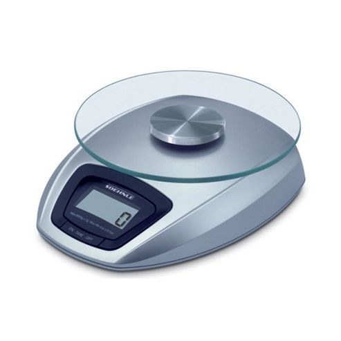 Soehnle 3 kg Siena Digital Kitchen Scale in Silver