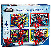 Ravensburger Ultimate SpiderMan 4 in a Box Puzzle