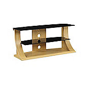 Jual Furnishings Curve TV Stand - 110cm - Oak