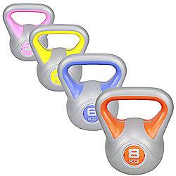 Confidence Fitness Pro Kettle Bell 4Pc Kettlebell Set - 8Kg - 6Kg - 4Kg - 2Kg