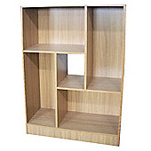Balance - Display Cabinet / Storage Shelves - Oak