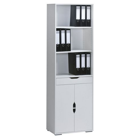 Maja Stockholm White High Bookcase