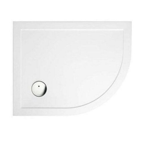 Zamori 35 Low Profile Offset Quadrant Shower Tray 1200mm x 800mm Right Hand