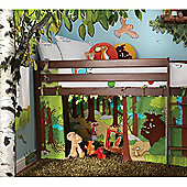 Izziwotnot Gruffalo Playhouse Curtain For Raised Bed
