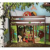 Izziwotnot Gruffalo Playhouse Curtain For Raised Bed