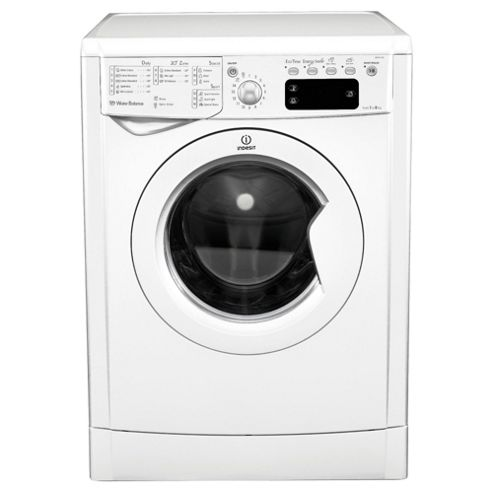 Indesit IWE81281 ECO Washing Machine , 1200 RPM Spin, White