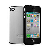 Cygnett UrbanShield for iPhone 4 + 4S + Screen Protector - Silver