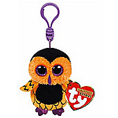 "Ty Beanie Boo Boos 3"" Key Clip - Screech the Owl (Halloween Exclusive)"