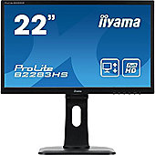 iiyama ProLite B2283HS 22 Full HD LED Monitor 2ms Response Speakers HDMI DVI HA