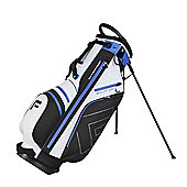 Forgan Golfdry Waterproof 14-Way Golf Stand Bag White/Blue
