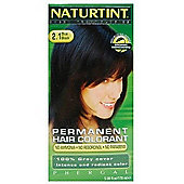 Naturtint Permanent Natural Hair Colour 2.1 Blue Black (170ml Liquid)