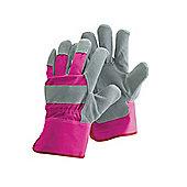 Briers Bo752 Ladies Rigger Glove Cerise Medium