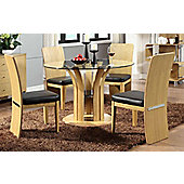 Jual JF601 Oak Table and 4 Chairs
