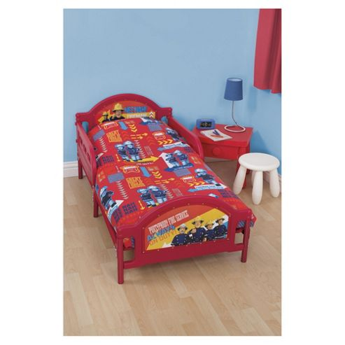 buy fireman sam junior bed bedding set from our baby bedding range tesco