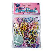 Jacks Pastel Bracelet Refill Pack - 250 Loom Bands