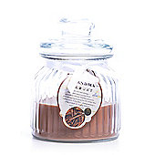 Large 'Grandma Memory' Scented Candle in a Glass Jar - Cinnamon