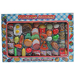 Farmer Market Food Playset