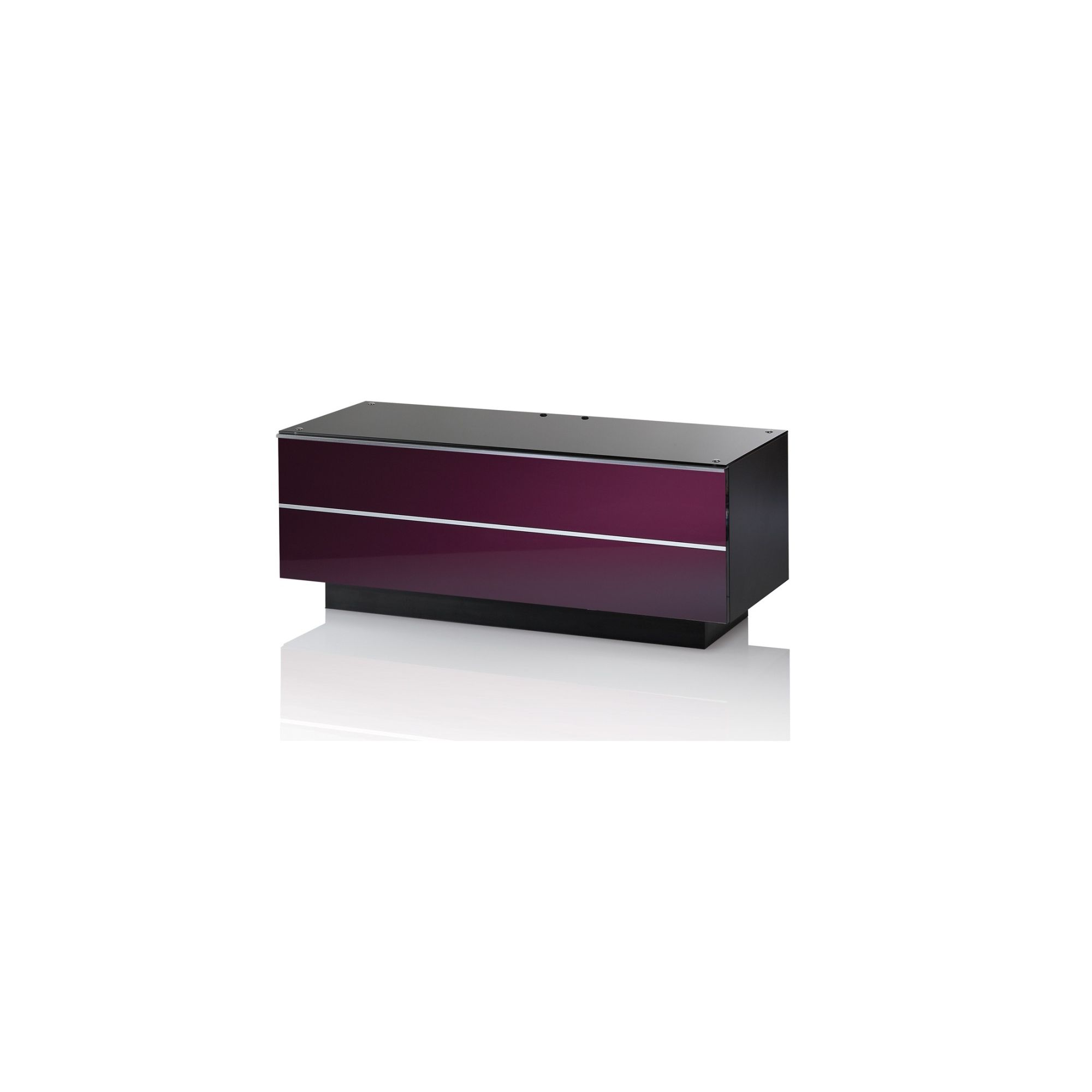 UK-CF G Series GS TV Stand - 110cm - Damson at Tesco Direct