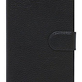 Tortoise™ Genuine Leather Folio Case Samsung Galaxy S6 Black