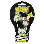 Moshi Monsters Exclusive Glow in the Dark Moshlings - Three Pack