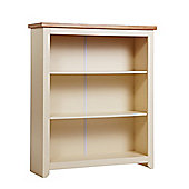 Home Essence Jamestown 3 Shelf Bookcase in Old English White