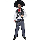Adult Western Mexican Bandit Costume