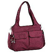 Okiedog ViVa Sassy Tote Changing Bag, Red