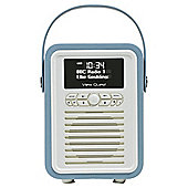 VQ Retro Mini DAB+/FM Radio with Bluetooth (Blue)