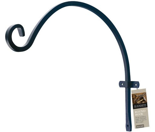 Blacksmith round hook 41cm