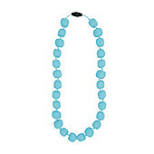 Jellystone Junior Princess - Pea Teething Necklace in Aqua Tiffany