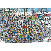 On Thin Ice - 3000 Piece - JVH Puzzle