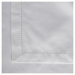 Cotton Tablecloth, White, 180x240cm