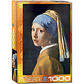 The Girl With The Pearl Earring - Vermeer - 1000pc Puzzle