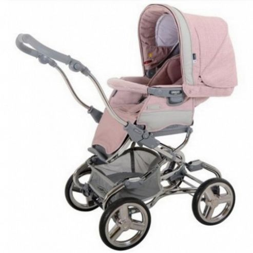 Bebecar Stylo EL Magic Combination Pram (Candy Floss)