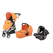Baby Elegance Beep Twist Travel System (Orange)