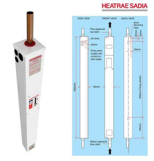 Heatrae Sadia Amptec Electric Boiler 11kW C1100