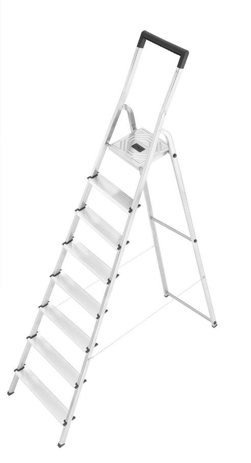 Hailo 346cm L40 Aluminium Safety Household Ladder
