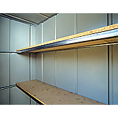 Canberra Double Rear Shelf for Fronted Apex Shed - 183cm