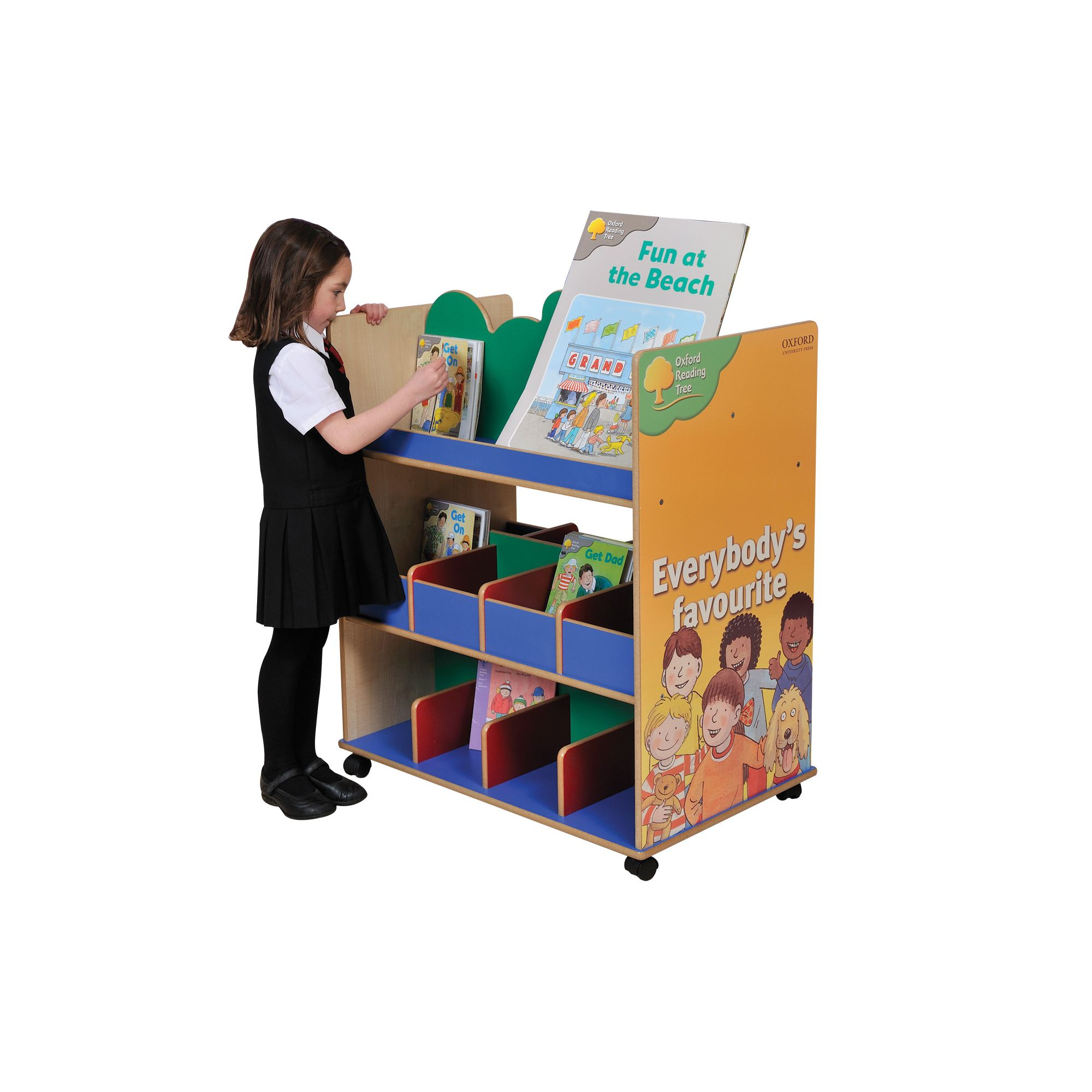 Liberty House Toys Themed Furniture Oxford Reading Tree Book Unit at Tesco Direct