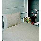 Natural Gingham Junior Bedding Set