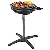 George Foreman 22460 Indoor and Outdoor BBQ Grill - Black